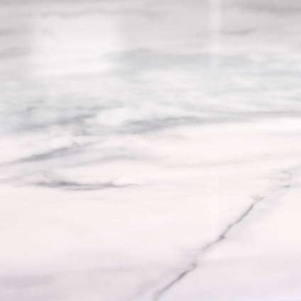 GlassCast Carrara White Marble Countertop Texture Detail